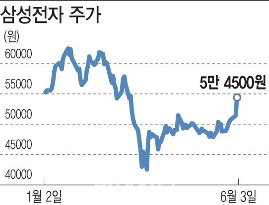 삼성전자 드디어 볕 드나…동학삼전개미 '환호'