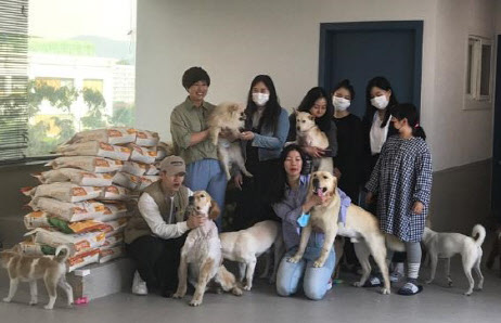 이글벳, 골프감독 박세리와 유기동물 기부활동 펼쳐