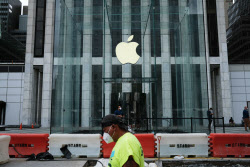 다시 문닫은 애플, 홍콩보안법 밀어붙이는 中