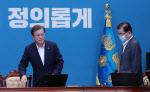 文대통령, '인국공 사태'에 전략적 침묵…코로나 극복 강조(종합)