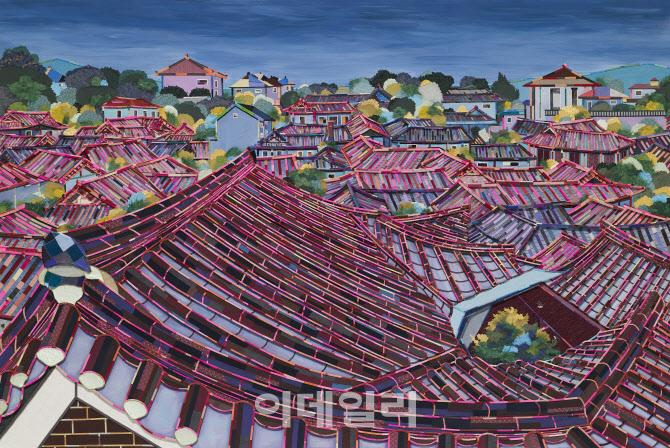 [e갤러리] 화가의 비밀병기 '바느질'…제미영 '조각풍경'