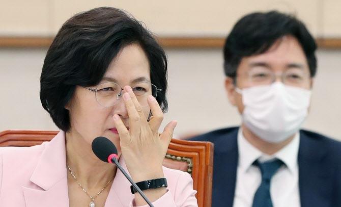 """추미애 '윤석열 결단' 경고에..""""다음 대선주자 조사 결과 궁금"""""""