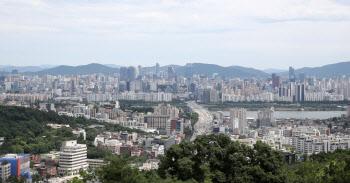 쾌청한 서울 도심