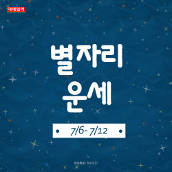 [카드뉴스]2020년 7월 첫째 주 '별자리 운세'