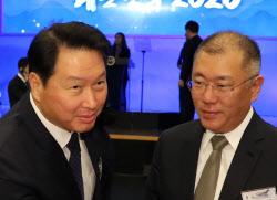 정의선, 이번 주 SK최태원과 회동..배터리협력 종지부