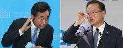 [포토]이낙연-김부겸, '차기 대권주자 정면승부'