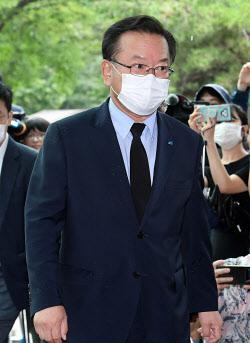 [포토]박원순 서울시장의 빈소로 향하는 김부겸 전 의원