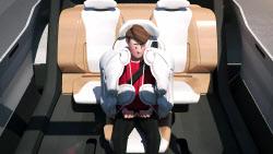 현대차, 미래 기술 애니메이션으로 만나본다…안전 에어백 `허그백` 공개