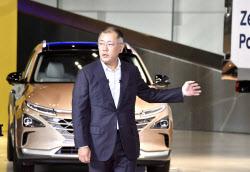 """'그린뉴딜' 날개 단 현대차..정의선 """"세계 최고 친환경 車기업"""" 포부(종합)"""