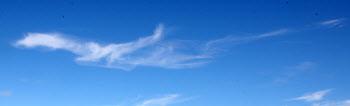 맑고 쾌청한 하늘