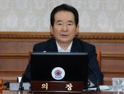 [포토]국무회의 주재하는 정세균 총리