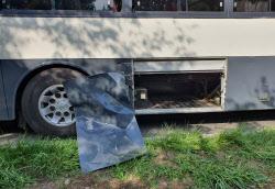 軍 버스 짐칸 문에 등산객 치여…1명 숨지고 1명 중상