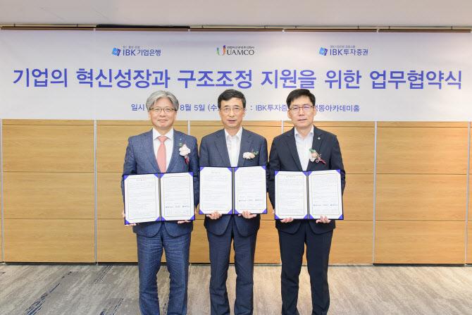 IBK證·유암코, 2000억원 기업재무안정펀드 조성