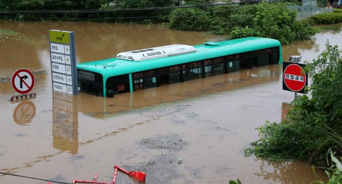 한강 수위 상승, 곳곳 도로통제…임진강 유역 주민들 대피