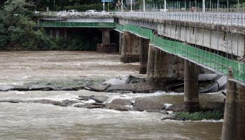 춘천 의암댐서 선박 3대 침몰...경찰 등 7명 실종