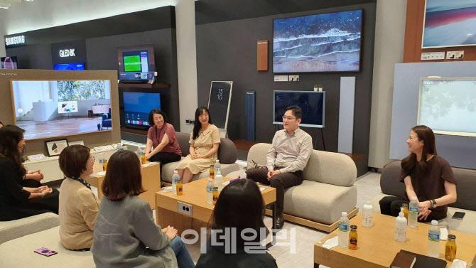 """'워킹맘' 만난 이재용..""""여성인재를 차세대 리더로"""""""
