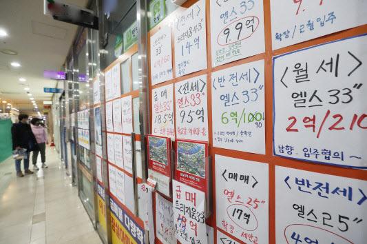 '규제의 역풍'…서울 이어 경기도 전셋값도 '폭등'