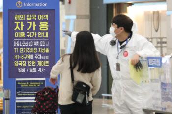 휴가철에도 텅 빈 인천국제공항 출국장