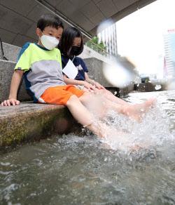 [포토]여름엔 물놀이가 최고!