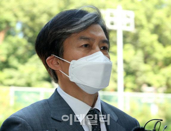"""조국 """"초선 김웅 '기승전-조국' 공격...내 아파트 '3수' 재건축"""""""