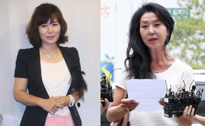 """김부선 """"30년 비구니처럼 살아""""...공지영 """"못한 말 많아, 끔찍"""""""