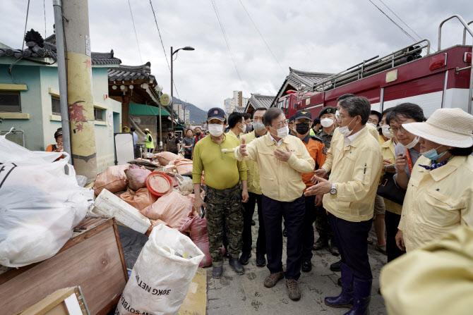 靑 구례·하동 등 11곳 2차 특별재난지역…추가지정 가능성도