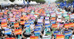 [포토]4대악 의료정책 저지를 위한 전국의사총파업 궐기대회