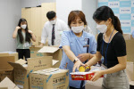 용인분당 예스병원, 전남 집중호우 피해 지역에 구호물품 전달