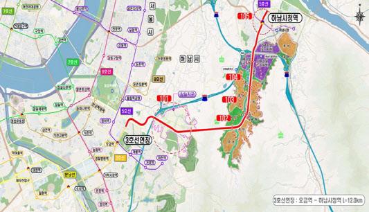 하남교산 3호선 연장으로 기우나…예타後 상반기 결정