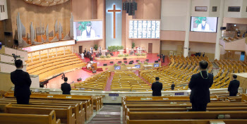 수도권 교회 예배 인원제한 완화