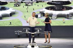 UAM 인프라 구축 닻 올린 정의선…KT·현대건설·인천공항 `맞손`