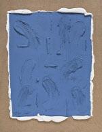 [e갤러리] '안개 낀 블루' 덮은 캔버스…장마리아 '중간쯤 어디-스프링 시리즈'