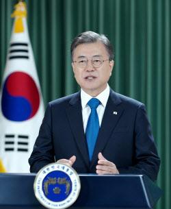 文, 동북아 방역협력체 제안..종전선언도 재거론