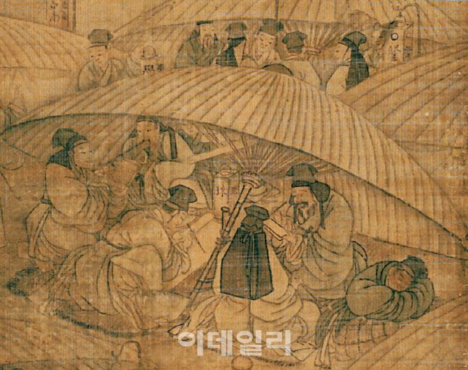 김홍도 과거시험장 4억9천만 팔려…서울옥션 낙찰률 72%로