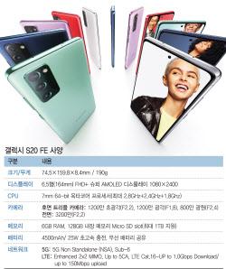 삼성의 '가성비 플래그십' 공개…아이폰12과 정면승부