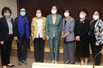 이정옥 장관, 한국여성단체협의회 방문