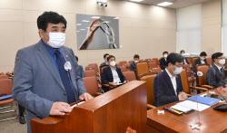 [포토]인사말하는 한상혁 방송통신위원회 위원장