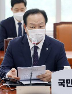 [포토]연평도 공무원 북측 피격 관련 발언하는 한기호 의원