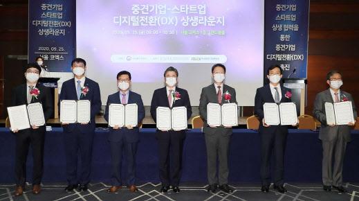 신한銀, 중견기업-스타트업 상생 지원 MOU 체결