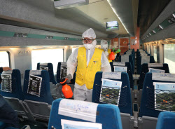 [포토]승객들의 안전한 귀성을 위해