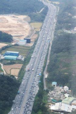 [포토]꽉 막힌 경부고속도로