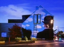 [e갤러리] 벽 창 통해 하늘로 들어서는 방법…한성필 '이면'