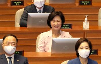 """추미애 """"윤석열 태세전환, 당연하고 다행스럽게 생각"""""""