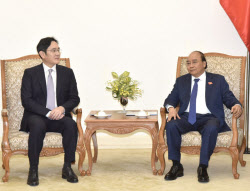 이재용 부회장, 베트남 총리와 만나 협력 방안 논의(종합)