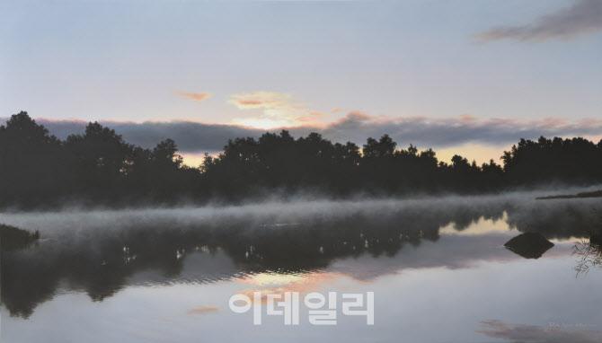 [e갤러리] 그저 흐르는 풍경에 붓을 맡기고…노현우 'No.068'