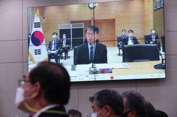 """[포토]장하성, 법인카드 부정 사용 논란 """"진심으로 송구'"""