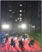 발코니에서 즐기는 음악회…중구, 비대면 음악축제