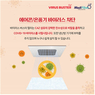 '살균 에어컨필터 개발' 메디파이버, 네스프와 공급확대 협약
