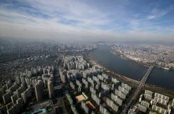 [포토]파란하늘 가로막는 중국발 미세먼지
