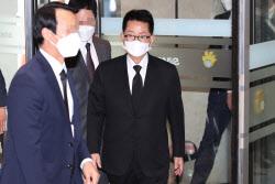 [포토]故 이건희 삼성 회장 빈소 찾은 박지원 국정원장